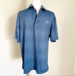[UNDER ARMOIR] Heat Gear Loose Fit Polo